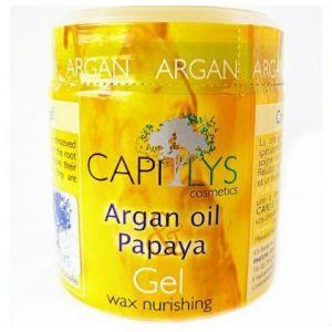 Capilys Argan Oil Papaya Gel wax nurishing - Cire gel