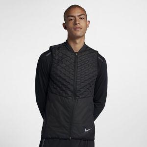 Nike Veste de running AeroLoft pour Homme - Noir - Taille XL