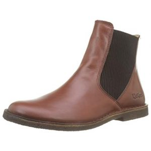 Kickers Boots cuir Tinto Marron - Taille 36;37;38;39;40;41