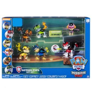 Spin Master 6 figurines Pat'Patrouille action mission