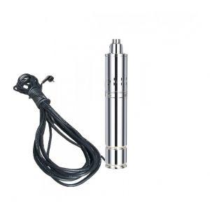Varan Motors Pompe à eau immergée pour puits profond ou forage 120m 1.1Kw, 1.5m³/h + 20m de câble