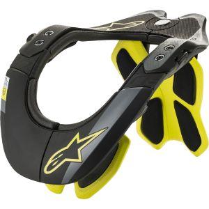 Alpinestars Neck Protector BNS Tech-2 - Black/ Yellow