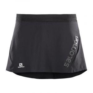 Image de Salomon Lightning Pro Skort W Black Shorts trail