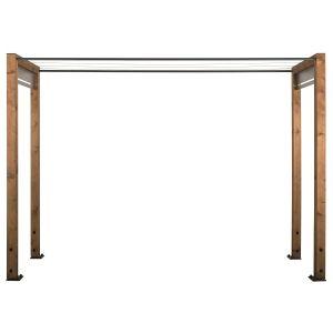 Jardipolys Etendoir à linge moderne en bois Neliö
