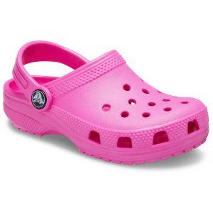 Crocs Classic Clog Kids, Sabot Unisexe Enfant, Rose Électrique, 27 EU -28