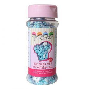 FunCakes Mix Flocons de neige en sucre 50g