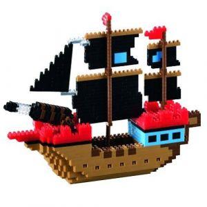 Brixies 410186 - Bateau de pirates 3D-Motif