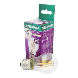 Sylvania Ampoule LED a filament Toledo RT Ball E27 4W équivalence 35W - E27 - 4W équivalent à 35W - Flux lumineux : 420lm - Température de couleur : 2700K - Blanc chaud.