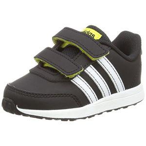Adidas Vs Switch 2 CMF Inf, Sneakers Basses bébé garçon, Multicolore (Cblack/Ftwwht/Shoyel B76063), 21 EU