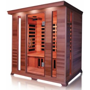 France Sauna Luxe 4 - Sauna cabine infrarouge pour 4 personnes