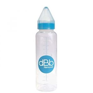 dBb Remond Biberon polypropylène Regul'air Clear 360 ml varitetine silicone
