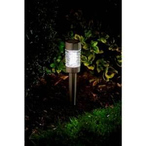 Smart Garden Pack de 4 balises MARTINI solaires LED