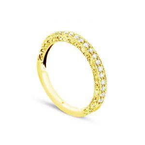 Rêve de diamants 3612030089480 - Bague en or jaune sertie de diamants