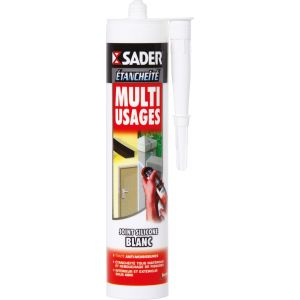 Sader Mastic multi-usages blanc -