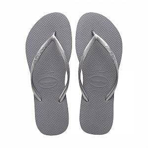 Havaianas Slim - Tongs - Femme - Gris (Steel Grey 5178) - 39/40 EU (37/38 Brazilian)