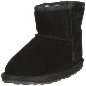 Emu Boots enfant WALLABY MINI Noir - Taille 36,24,27,28,31,32,35,25 / 26,29 / 30,33 / 34