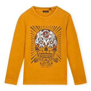 IKKS T-shirt manches longues 4 - 14 ans Safran - Taille 10 ans;12 ans;14 ans;4 ans;5 ans;6 ans;8 ans