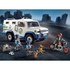 Image de Playmobil 9371 - Fourgon blindé avec convoyeurs