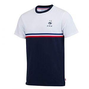 Fff Equipe de FRANCE de football T-Shirt - Collection Officielle Taille Homme S