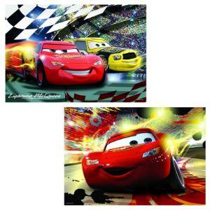 Ravensburger Lot de 2 puzzles: Cars en scène 2 x 24 pièces