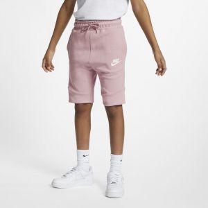 Nike Short Sportswear Tech Fleece pour Garçon plus âgé - Pourpre - Couleur Pourpre - Taille M