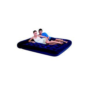 Bestway 67356N - Canapé-lit gonflable floqué 2 personnes avec pompe électrique