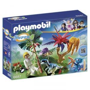 Playmobil 6687 Super4 - Ile perdue avec alien