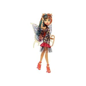 Mattel Poupée Monster High Jardin Créature volante Toralei