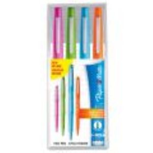 Paper Mate 4 Stylos feutres Nylon pointe (0,4 mm)