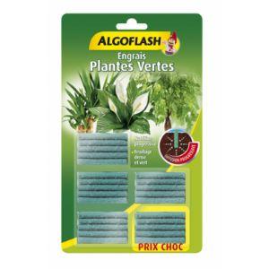 Algoflash Engrais plantes vertes - 25 bâtonnets