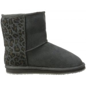 Pepe Jeans Chaussures Boots Angel Leopard grises