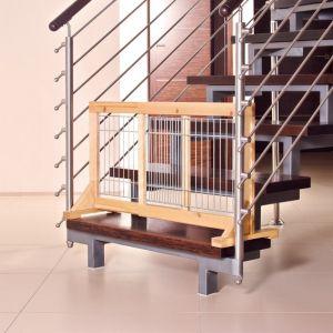 Trixie Barrière intérieure chiens - hêtre clair - 63 à 108 cm