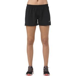 Asics Silver - Short running Femme - noir M Collants & Shorts Running