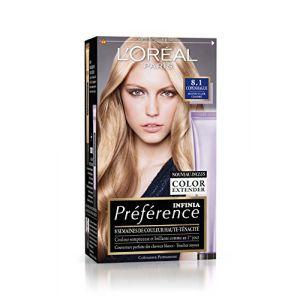 L'Oréal Préférence Infinia Blondes 8.1 Copenhague - Blond Clair Cendré