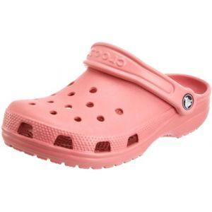 Crocs Classic - Sandales de marche taille M5 / W7, rouge/beige/rose
