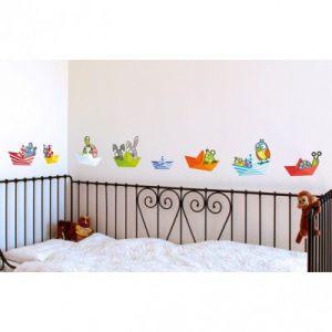 Série-Golo Sticker petits bateaux