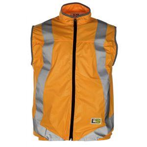 L2S VisioLight Gilet de sécurité Orange XL