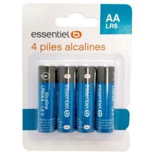 EssentielB Pile 4 AA Alcaline LR06
