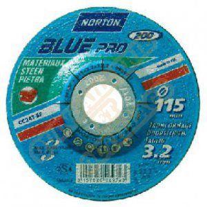 Norton clipper Disque à tronçonner - Blue pro - matériaux - 125x3.2 mm