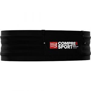 Compressport Compress Port Adultes Ceinture de Course Free Belt Pro M/L, Noir, M/L
