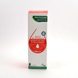 Phytosun aroms Kiné+ - 4 huiles de massage détente nuque et dos