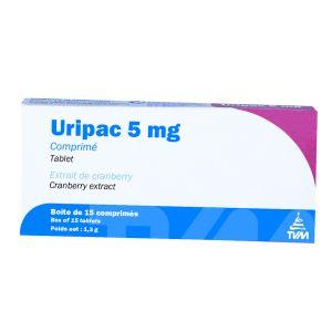TVM Uripac 5 mg 15 cps