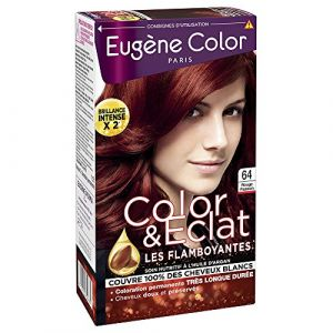 Eugène Color Color & Eclat Coloration permanente Rouge Passion 64