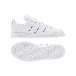 Adidas Originals Stan Smith Junior EU 36 2/3 Footwear White / Footwear White / Royal Blue - Footwear White / Footwear White / Royal Blue - EU 36 2/3