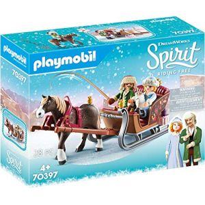 Playmobil Spirit Riding Free 70397 Calèche d'hiver