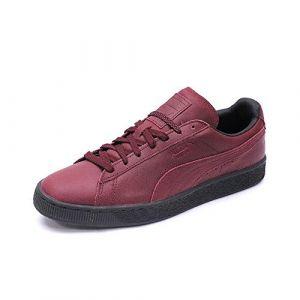 Puma Chaussures Suède Classic Winterized Rouge Homme