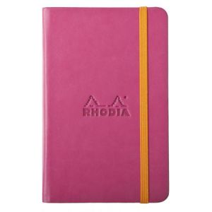 Rhodia 118652C Rhodiarama framboise A6 - Webnotebook format 9 x 14 cm, 192 pages