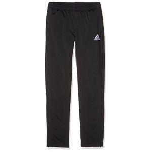 Adidas Tiro Pantalon Garçon, Noir/Blanc, FR : 15-16 ans (Taille Fabricant : 176)