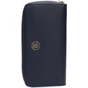 Tommy Hilfiger Portefeuille AW0AW04281 HONEY LARGE WALLET bleu - Taille Unique