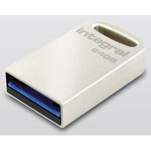 Integral INFD64GBFUS3.0 - Clé USB 3.0 Fusion 64 Go